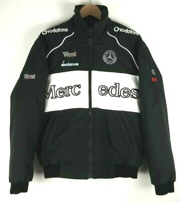 Mercedes Benz F1 Team Formula 1 Racing Mens Jacket Coat Size Small