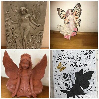 4 Fairy Themed Latex Moulds