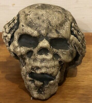 Latex Mould for making Small Skull candle/soap