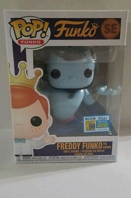 Funko Pop Mystery Box Round #5. 2019 SDCC LE 450 Genie,  + Chase, Exclusives etc