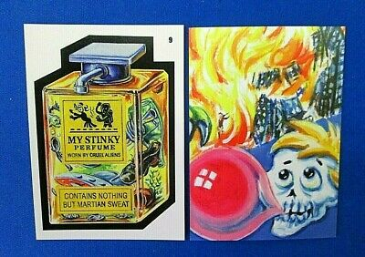 2019 Topps Attacky Packages (Mars Attacks Wacky Packages)) #9 My Stinky Perfume