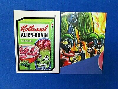 2019 Topps Attacky Packages (Mars Attacks Wacky Packages)) #8 Kollassal Cereal