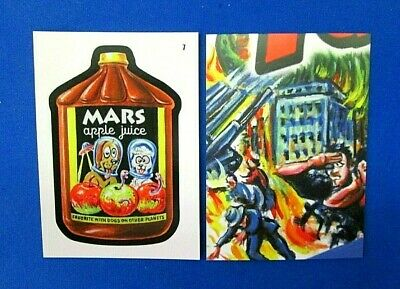 2019 Topps Attacky Packages (Mars Attacks Wacky Packages)) #7 Mars Apple Juice