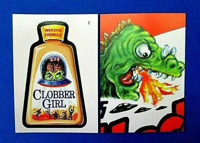 2019 Topps Attacky Packages (Mars Attacks Wacky Packages)) #2 Clobber Girl