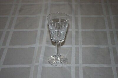 """Waterford Crystal Lismore Sherry / Port Glass, 5 1/8"""" Vintage Ireland Beautiful"""