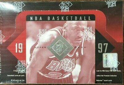 1996-97 Upper Deck UD SP Authentic Basketball Factory Sealed Hobby Box