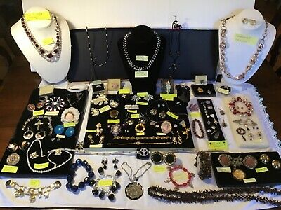 💍Jewlery Lot: Sterling sIlver,Rings,Brooches Vintage & Retro Jewelry