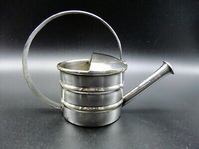 Vintage Silver Plated Watering Can Vermouth Dropper Martini Cocktail Item