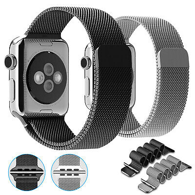 For iWatch Apple Watch Series 5/4/3/2/1 Milanese Stainless Steel Watch Band Loop