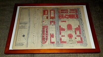 Original 1897 Map Of New York Columbia University Plate 132 Part Of Section 7