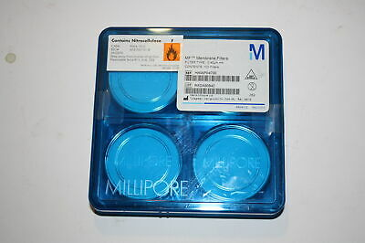 Millipore HAWP04700 MF Membrane Filters, 0.45 Unopened Pack of 100