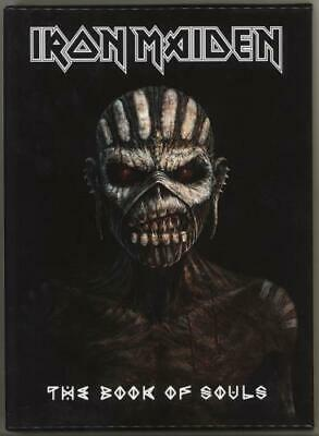 The Book Of Souls - Deluxe Edition Iron Maiden UK 2 CD album (Double CD)