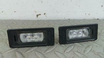 2013 AUDI A6 RS6 Petrol Estate Pair of LED Number Plate Lights 445