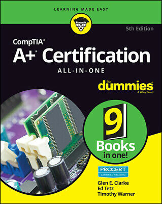 CompTIA A+ Certification All in One For Dummies 5th Edition 2019