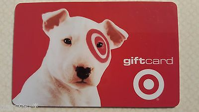 Target Store Gift Card Bullseye 2003 Collectible No Value