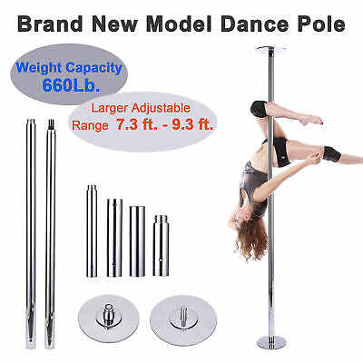Professional Fitness Portable Static Spinning 45mm Dancing Pole