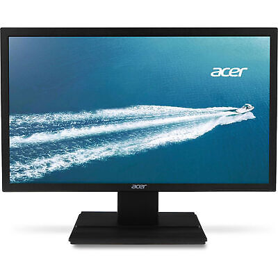 "Acer V6 24"" LED Widescreen LCD Monitor Full HD 1920x1080 5 ms 60Hz 250 Nit TN"