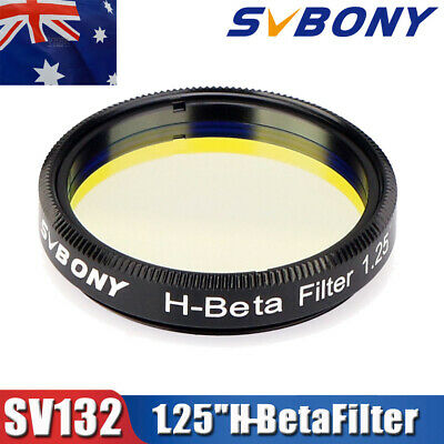 "SVBONY H-Beta Filters 25nm 1.25"" Eyepiece for Horsehead Nebula in Dark Skies AU"