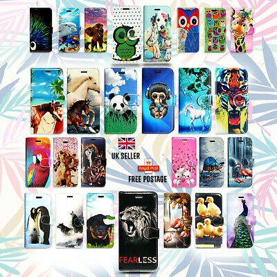 Animal Design Leather Wallet Flip Book Phone Case Cover For Apple Iphone 5 5S 5G