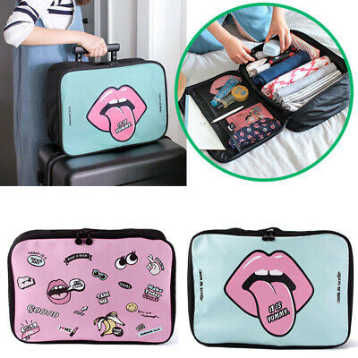 Clothes Travel Storage Bag Set Organizer Cube Luggage Portable New 2019