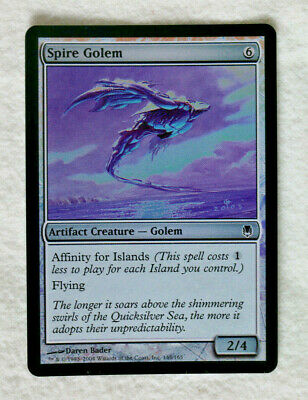 Moderate Play Foil 10th Edition English 1 x MTG Steel Golem
