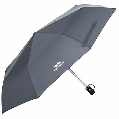 Trespass Resistant Compact Umbrella In Black With Automatic Button