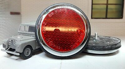 Quality Lucas RER14 57145 Repro Rear Tub Red Round Reflectors x2 Morris Minor