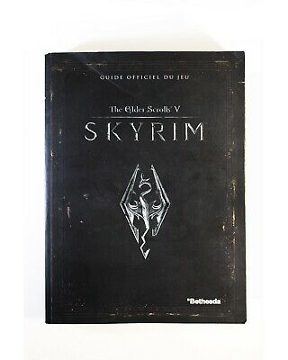 Guide Skyrim the elder scrolls V - 650 pages en Français