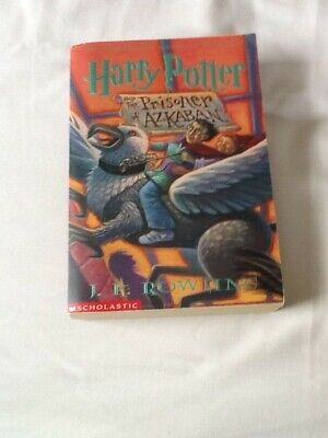 Harry Potter And The Prisoner Of Azkaban By J. K. Rowling 2001 Us Edition