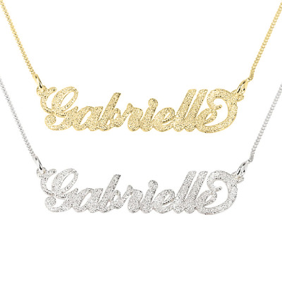 Name Necklace Personalized - Silver / Gold / Rose Gold - Custom Name Necklace