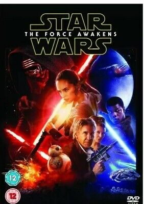 Star Wars The Force Awakens DVD 2016 Episode VII, Nearly New