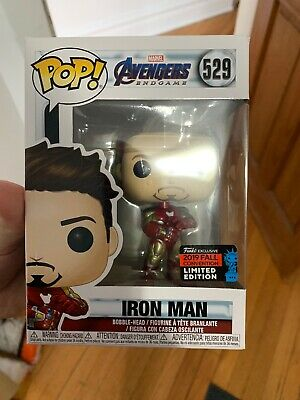 Funko Pop! Iron Man NYCC Comic Con Tony Stark Gauntlet EXCLUSIVE Shared Sticker