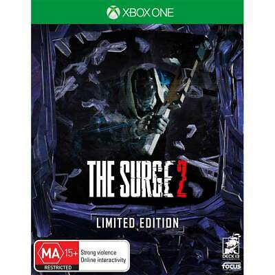 The Surge 2 Limited Edition XBOX One Fighting Hack & Slash Game Microsoft XB1