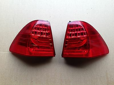 BMW 3 Series Touring Pair Rear Outer Lci Facelift Led Light 7289431/2 E91
