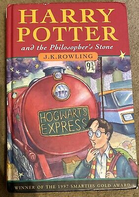 Harry Potter and the Philosophers Stone Ted Smart 1998 7th printing hardback