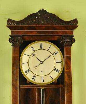 3 Month Mahogany Dachluhr Vienna Regulator Wall Clock