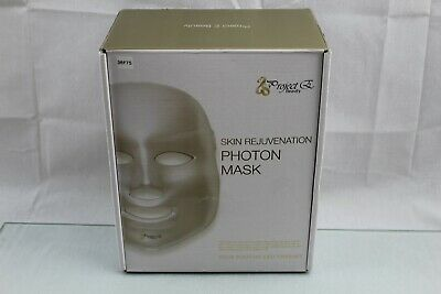 Project E Beauty 7 Color LED Mask Photon Light Skin Rejuvenation Therapy 36N66