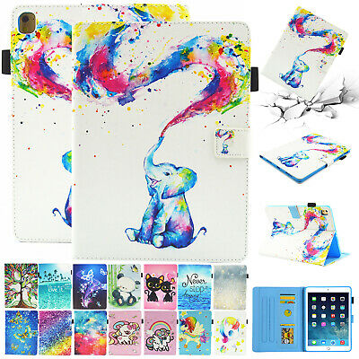 For Apple iPad 10.2 7th 2019 Leather Smart Case Magnetic Flip Stand Wallet Cover