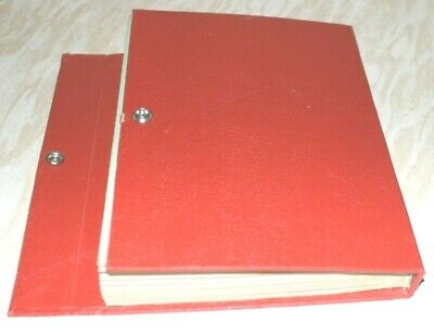 Huge Collection Of World Stamps In Red Stockbook