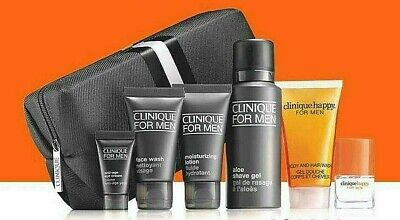 Clinique For Men Happy -7 Piece Gift Set - New