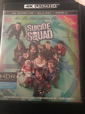 Blu-ray Suicide Squad  4k