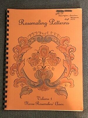 Rosemaling Patterns Volume 1 Norse Rosmalers Assoc.