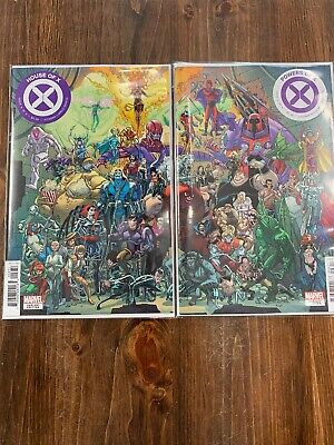 House of X #6 & Powers of X #6 Javi Garron Connecting Variant Cover Set