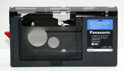 Panasonic Cassette Adaptor VW-TCA7E SVHS Made in Japan
