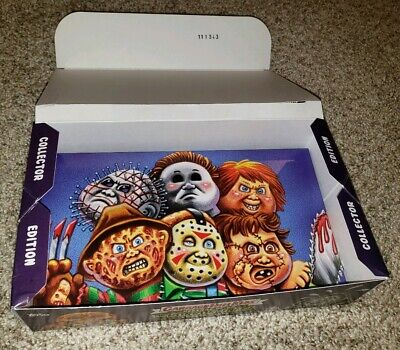 Garbage Pail Kids Revenge Oh, Horror-ible Empty Collectors Box with Insert and..