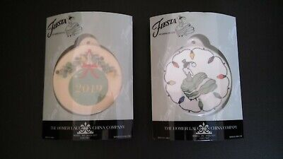 2019 Fiesta Christmas Ornaments (Lot of 2 NEW)