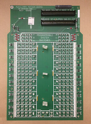 Board GE LIGHTING CONTROL AUXILIARY MOTHER BOARD 437D493 REV F