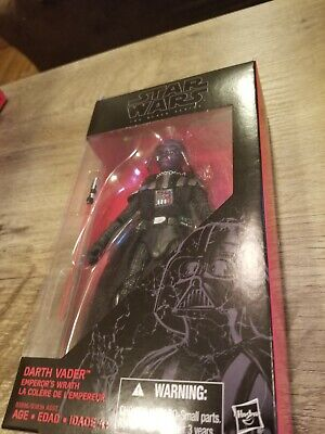 Star Wars The Black Series Darth Vader Emperor's Wrath Walgreens Ex. Complete