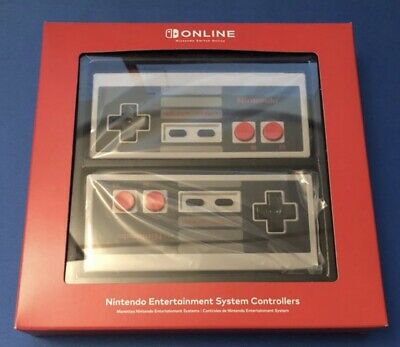 NEW Nintendo Switch Online NES Entertainment System Controllers Wireless Joy-Con