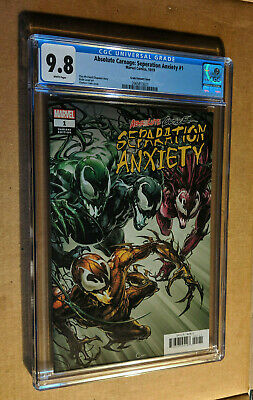 Absolute Carnage Separation Anxiety #1 1:25 Clayton Crain Variant CGC 9.8 NM+/M